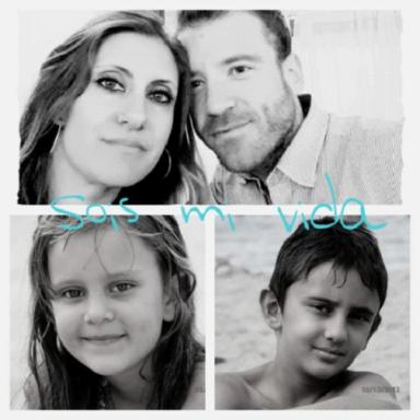 Foto familia entrada bio